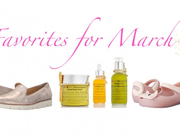 Favorites for March