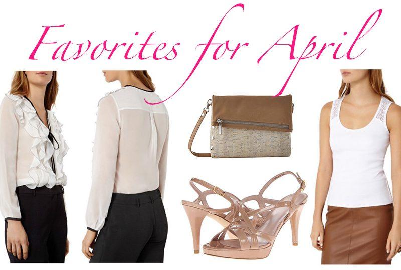 Favorites for April