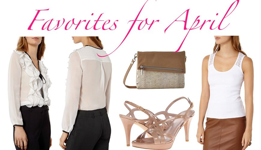 Favorites for April