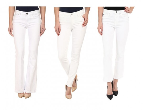 Best Fitting White Jeans for Spring and How to Wear Them