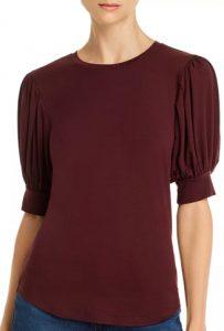 FRAME Puff-Sleeve Tshirt