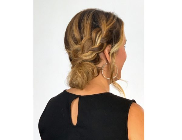 easy fashion updo